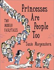 Princesses Are People, Too by Susie Hoch Morgenstern