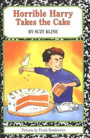 Horrible Harry takes the cake PDF