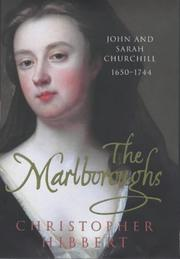 The Marlboroughs by Christopher Hibbert