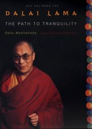 The path to tranquility by 14th Dalai Lama