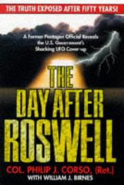 The day after Roswell by Philip J. Corso, William J. Birnes