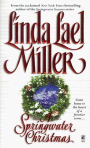 Cover of: A Springwater Christmas by Linda Lael Miller.