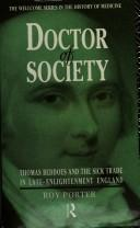 Doctor of society by Porter, Roy