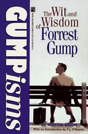 Cover of: Gumpisms by Winston Groom