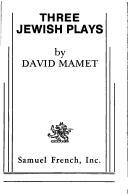 Three Jewish plays PDF