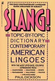 Slang by Paul Dickson