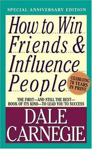 Cover of: How to win friends and influence people by Dale Carnegie