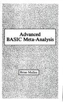 Advanced BASIC meta-analysis by Brian Mullen