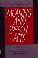 Meaning and speech acts PDF