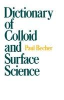 Dictionary of colloid and surface science PDF