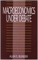 Macroeconomics under debate PDF