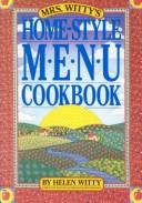 Mrs. Witty's home-style menu cookbook PDF