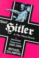 Adolf Hitler and the Third Reich in American magazines, 1923-1939 PDF