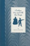 Clothes on and off the stage PDF