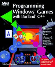 Programming Windows games with Borland C++ by Nabajyoti Barkakati