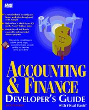Accounting & finance by Jack J. Purdum