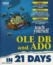 Teach Yourself OLE DB and ADO in 21 Days by John Fronckowiak