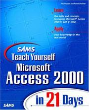 Sams Teach Yourself Microsoft Access 2000 in 21 Days PDF