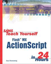 Sams Teach Yourself Flash MX ActionScript in 24 Hours PDF