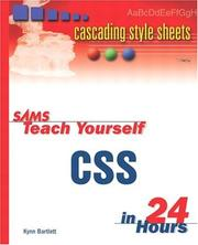 Sams Teach Yourself CSS in 24 Hours PDF