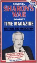 General Sharon's war against Time magazine by Dov Aharoni