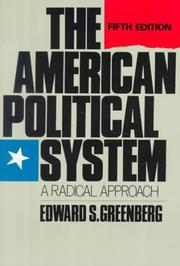 The American political system by Edward S. Greenberg
