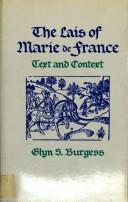 The Lais of Marie de France by Glyn S. Burgess