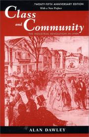 Class and Community by Alan Dawley