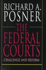The federal courts by Richard A. Posner