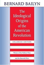 The ideological origins of the American Revolution PDF