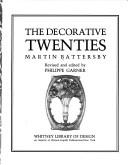 The decorative twenties by Martin Battersby