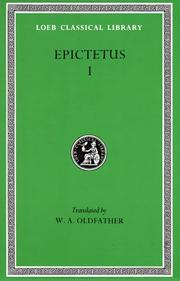 Cover of: Discourses, Books 1-2 by Epictetus
