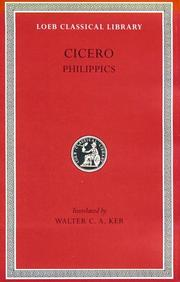 Cover of: Philippics by Cicero