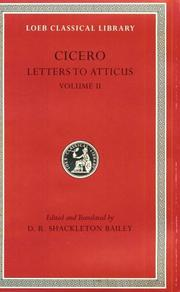 Letters to Atticus. Vol. 2
