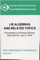 Lie algebras and related topics PDF
