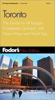 Fodor's Toronto, 14th Edition PDF