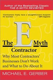 The E-Myth Contractor PDF
