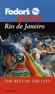 Fodor's Pocket Rio de Janeiro PDF