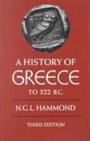 A history of Greece to 322 B.C. PDF