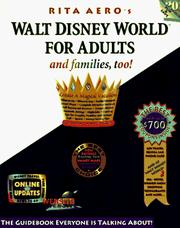 Walt Disney World for Adults by Rita Aero