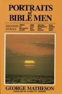 The representative men of the Bible by Matheson, George