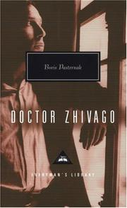 Doktor Zhivago by Boris Leonidovich Pasternak
