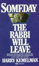 Someday the rabbi will leave PDF