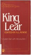 Cover of: King Lear by William Shakespeare