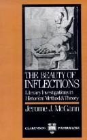 The beauty of inflections by Jerome J. McGann