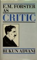 E.M. Forster as critic PDF