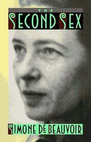 Cover of: The Second Sex by Simone de Beauvoir