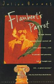 Flaubert&#39;s parrot by Julian Barnes