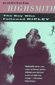 The boy who followed Ripley PDF