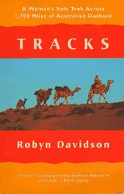Cover of: Tracks by Robyn Davidson